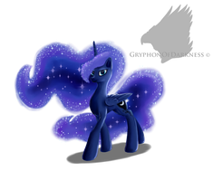 Princess Luna by GryphonOfDarkness