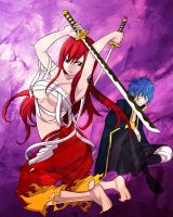 Erza and Jellal: Bonded By Fate 2 by fullmetaljuzz