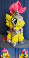 Fluttershy in Shining Armor OvO by Furboz