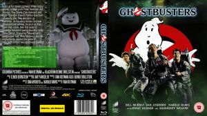 Ghostbusters 30th Anniversary Blu Ray cover by BrotherTutBar