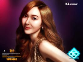 JESSICA JUNG The Ice Princess by KINCHENart