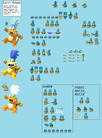 larry koopa sprites by shadowsilverfox12