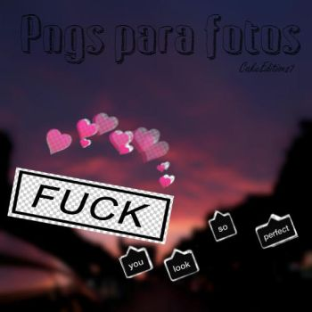 Pngs para tus fotos :v by CakeEditions7