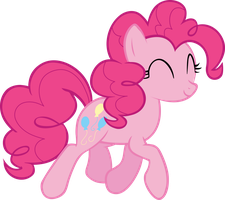 Pinkie Pie Vector by icantunloveyou