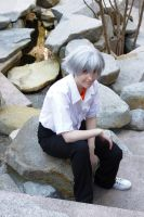 Kaworu Nagisa Cosplay by BotticelliSandro