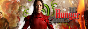 Hunger Games Banner by VaLeNtInE-DeViAnT