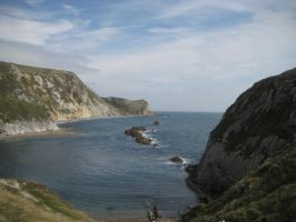 Lulworth Cove 2 by SlidingWingz