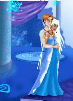 Disney couple: Milo and Kida by MarineElphie