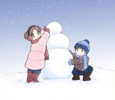 Build a Snowman by DanaBoBana