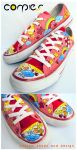 funny mix cloudy shoes by JONY-CAKEP