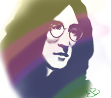 Imagine - John Lennon by EmaWee