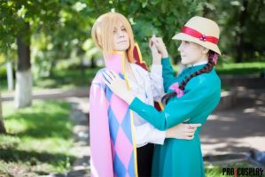 Howl's Moving Castle - Sophie and Howl by Gekidan