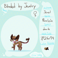 Blinded By Jewelry Ref by animose