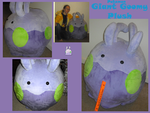 Giant Goomy plush by methuselah-alchemist