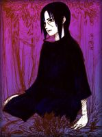 Itachi sketch by melow-rat