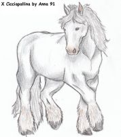 Cicciapallina-horse version by Anna-XIII