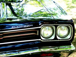 1969 Plymouth - Drivers Head Light by Kitteh-Pawz