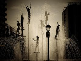 Tbilisi fountain by Chipson