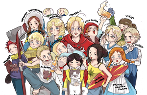 APH: Canadian Provinces by Misharoyuki