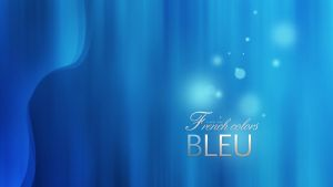 French Colors Bleu by N-boy