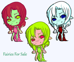 Fairies For Sale by meloniigayle