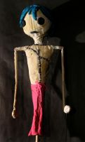 Hickory the VooDoo Doll Puppet by shiyonin