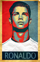 Cristiano Ronaldo Vintage 2 by mikevectores