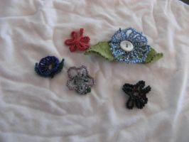 Beaded Blossoms by leelu