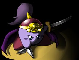 Ninja Kirby by ShadowScarKnight