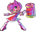 Amy Rose by griffsnuff