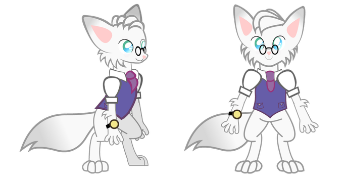 DRWolf Side and Front Poses by Lightning-Bliss