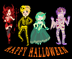 halloweentimeeeeeee by ghostbruises