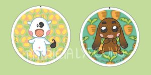 Buttons-badges by patriciaLyfoung