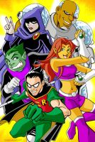 Teen Titans by GabeLamberty