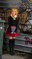 deadnote Misa cosplay by aratkrision