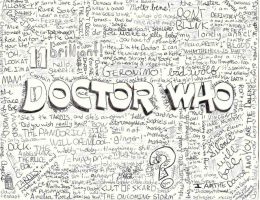 Doctor Who Quote Collage by trekkiekidmaddie