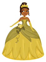 princess tiana by AiLuz