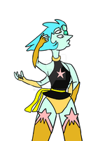 Pearl + Grossular fusion Turquoise by CatDasher