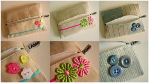 Lots of Tissue Holders by MasonBee