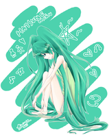 HatsuneMiku by chocolatekimikki