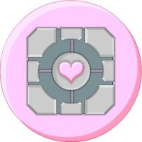 Weighted Companion Cube by LegendaryFrog