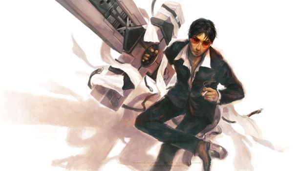 Nicholas D. Wolfwood by solidgrafi