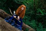 Merida Cosplay - Into the open air by Thecrystalshoe