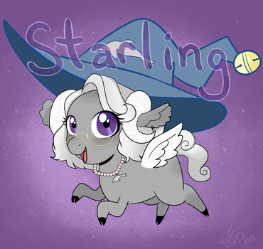 Starling! First Commission by LiziePie