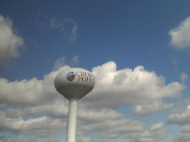 Crown Point Water Tower by CollegeCADKid8908