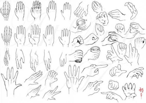 Study: Hands by The-Nai
