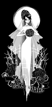Ghost bride by erebun