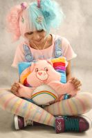 care bears love- fairy kei by aiko-yume