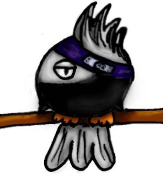 Kakashi bird Color BETA by Nastjuschechka