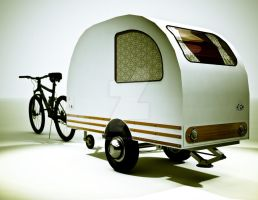 Bicycle Mini Camper Design 5 by sicklilmonky